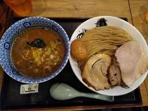 「特製濃厚つけ麺」@日本の中華そば富田 成田空港店の写真