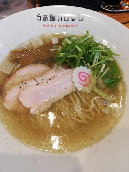 「塩らぁ麺(鶏と煮干し)」@らぁ麺 いしばしの写真