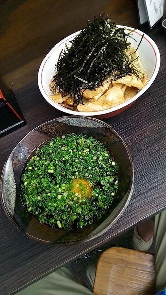 「港屋風小麦蕎麦(大盛・ラー油抜き)780円」@かぶ吉の写真