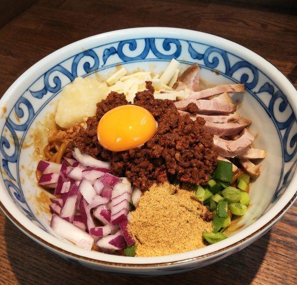 「【限定】台湾混ぜそば」@らー麺屋 バリバリジョニーの写真