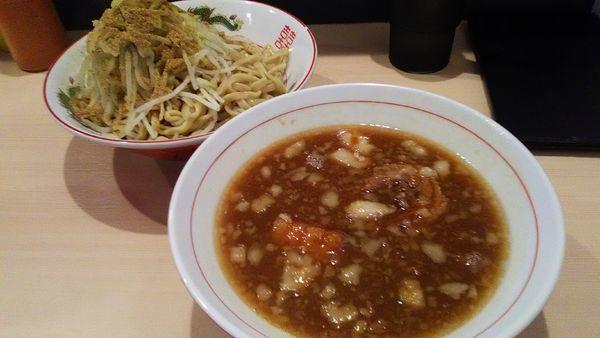 「[限定]つけ麺」@鷹の目 蒲田店の写真