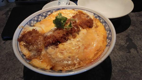 「[限定]冷やしカツ丼ラーメン」@麺屋武蔵 蒲田店の写真