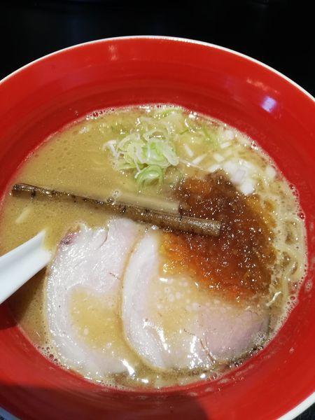 「魚介豚骨醤油」@men-eiji HIRAGISHI BASEの写真
