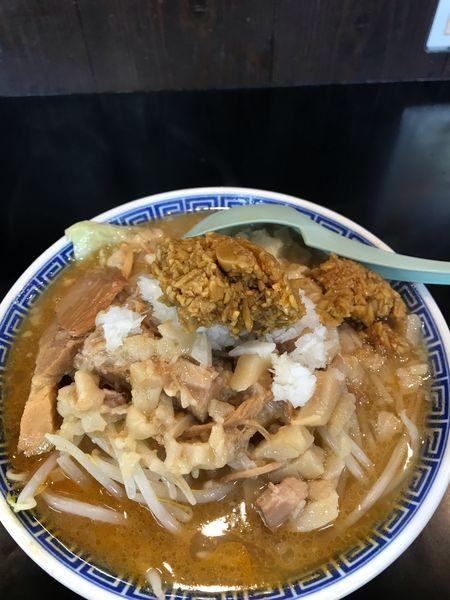 「雅狼麺 小(味噌)」@雅狼の写真