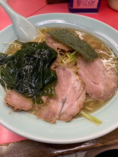 「ネギチャーシューメン900円」@ラーメンショップ 高田店の写真