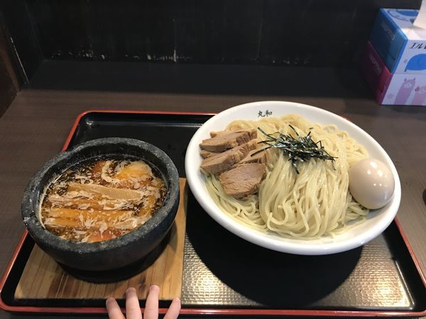 「嘉六つけ麺」@つけ麺 丸和 弥富店の写真
