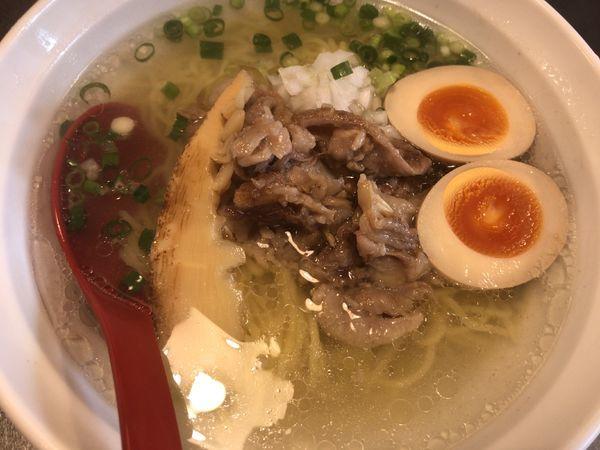 「前沢牛しお味玉950円」@盛岡麺厨房 ゼロワンの写真