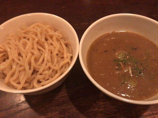 「濃厚つけ麺(金土限定)小(180g)900円」@JAHの写真