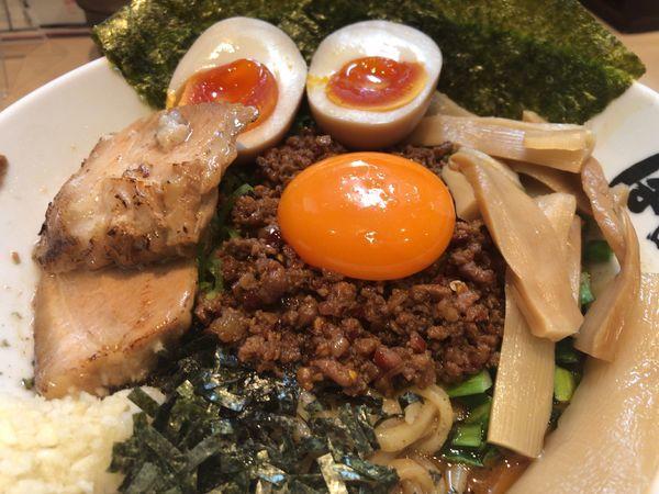 「台湾まぜそばDX」@麺屋 はなび 弥富店の写真