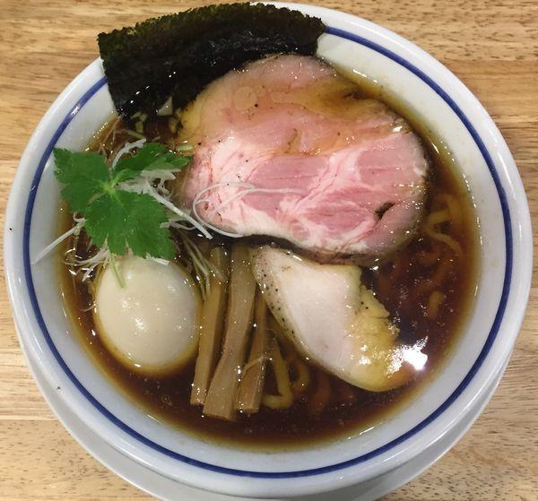 「中華そば(醤油)800円他」@手打式 超多加水麺 ののくらの写真
