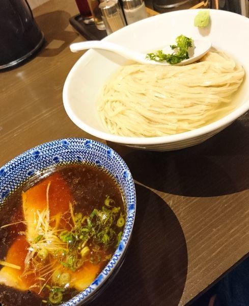 「昆布水つけ麺 醤油」@麺処 青野の写真