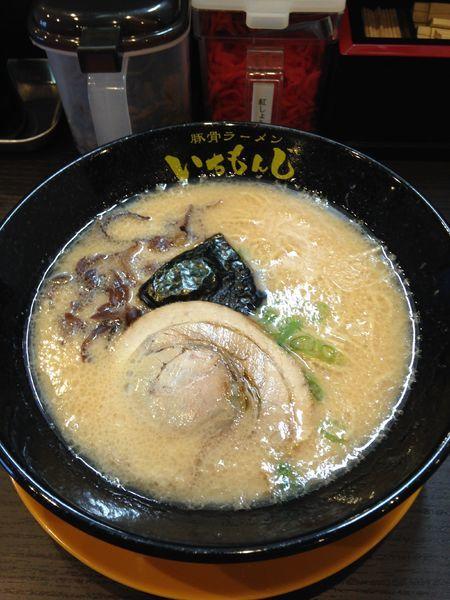 「ラーメン 味噌 500円」@豚骨ラーメン いちもんじ 富士店の写真