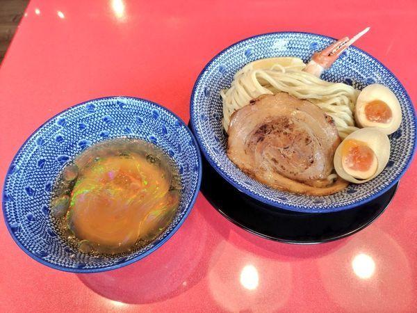 「期間限定 すっごいズワイ蟹の冷しつけ麺」@オカゲサマ製麺食堂の写真