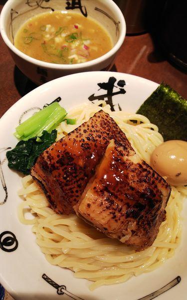 「濃厚肉二倍武仁つけ麺大盛り」@麺屋武蔵 武仁の写真