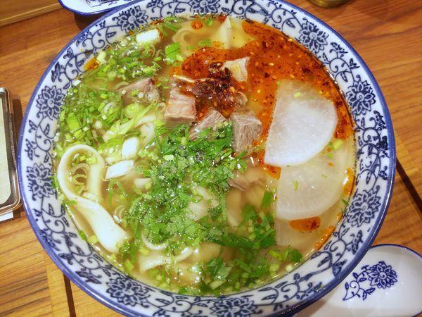 「蘭州拉麺 790円(外税)」@蘭州拉麺 一天一面の写真