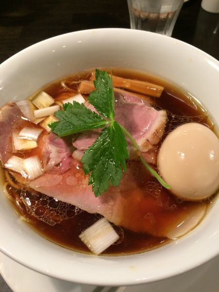 「特選醤油らぁめん1200円」@KaneKitchen Noodlesの写真