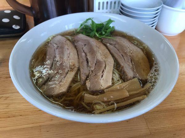「チャーシュー麺大盛」@自家製麺 しゅん作の写真