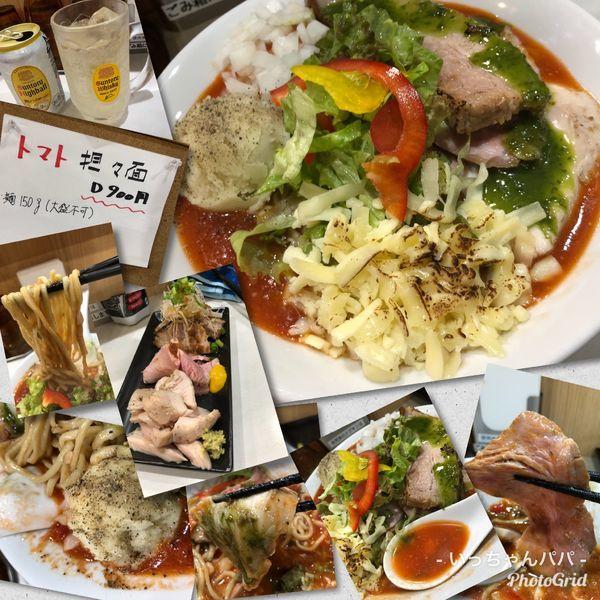 「限定)イタリアン担々麺 900円 他」@麺屋 扇 SENの写真