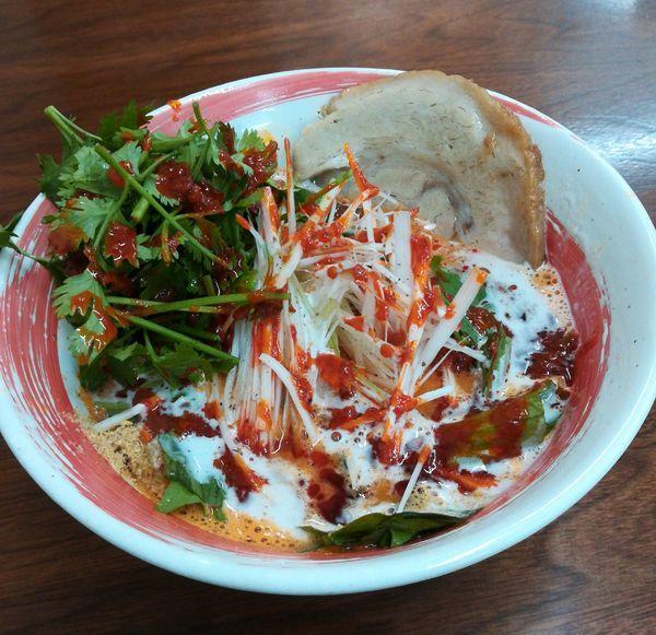 「たんたんめん」@4代目松屋食堂の写真