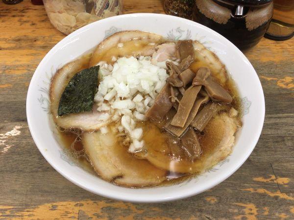 「チャーシューメン(バラ・卵麺硬め) 750円」@丸幸の写真