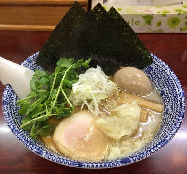 「特製ふくろう麺」@麺や ふくろうの写真