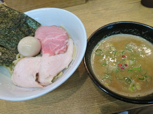 「特製濃厚鶏白湯魚介つけ麺 ¥1230」@RAMEN 一麺托生の写真