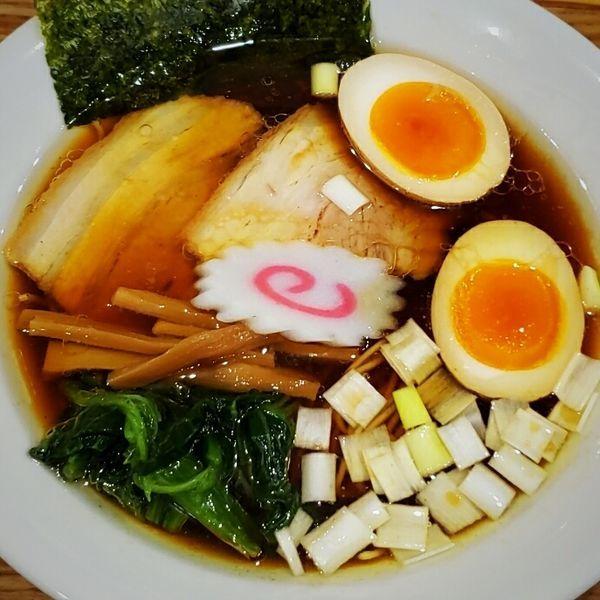 「味玉醤油そば 880円他」@麺's キッチン RIRIの写真