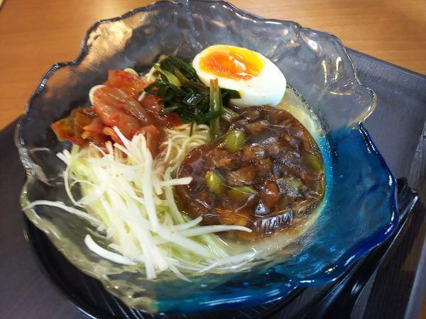 「ぼっかけ冷麺 700円」@中華そば 龍の髭の写真