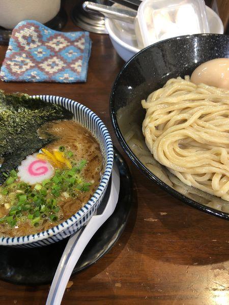 「濃厚つけ麺味玉 大盛り(930円)」@博多ラーメン とんこつ家の写真