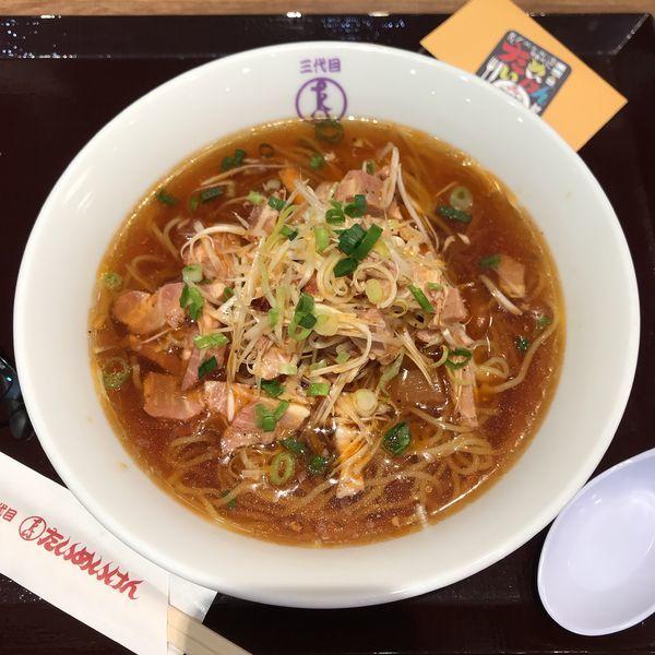 「ピリ辛 冷やしラーメン」@洋食や 三代目 たいめいけん ラゾーナ川崎プラザ店の写真