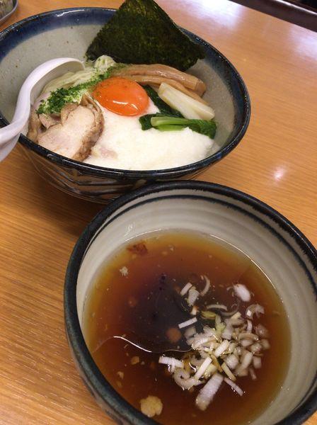 「【限定】冷やしとろろつけ麺880円」@新橋 纏 京王高幡SC店の写真