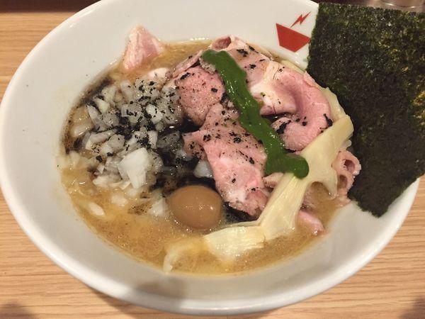 「蟹そば+ハーフ肉増し:850+180円」@crab台風。の写真