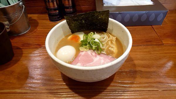 「豚そば+味玉」@どろそば屋 ひろしの写真