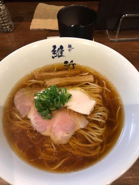 「醤油ラーメン」@麺や維新の写真