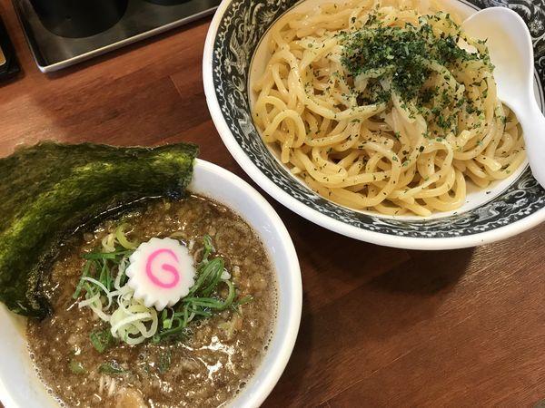 「【期間限定】魚介豚骨つけ麺840円(中盛無料)」@拉麺 梅太郎の写真