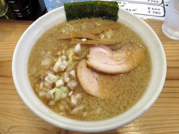 「背脂煮干ラーメン 780円」@麺処いろ葉の写真