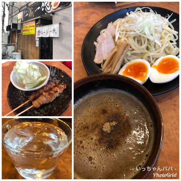「魚介つけ麺 780円 麺量 150g 他」@博多一成一代の写真