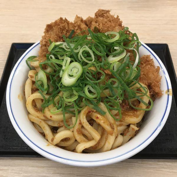 「【期間限定】カレーうどんカツ丼(¥637)」@かつや 蒲田西口店の写真