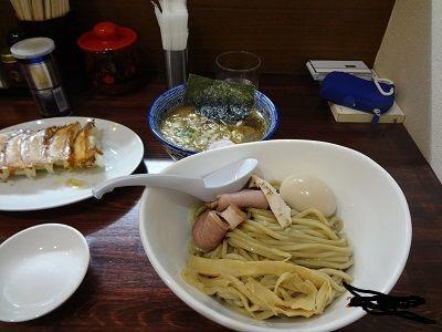 「濃厚つけ麺」@阿波家 信州始店の写真