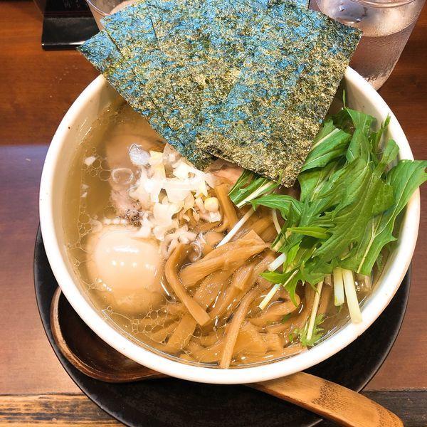 「特麺たつ塩ラーメン」@ラーメン 麺たつの写真