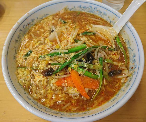 「旨辛菜麺1玉(572円)」@ぎょうざの満州 北浦和西口店の写真