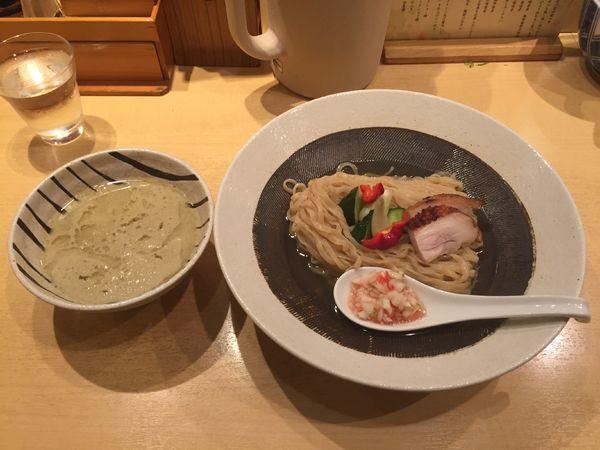 「【夏の限定麺 第1弾】浅蜊と煮干しの塩つけそば」@饗 くろ㐂の写真