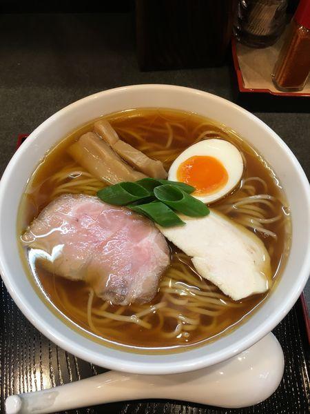 「丸鶏醤油らぁ麺」@らぁ麺 幸跳の写真