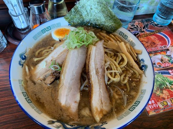 「特製チャーシュー麺」@らーめん伏竜 本店の写真