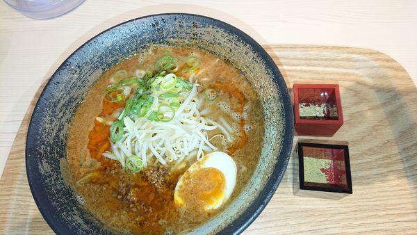「金ゴマラーメン」@すわき後楽中華そば 大阪城店の写真
