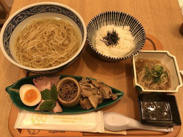 「寿製麺よしかわ〜山椒の中華そば ¥1000」@むぎくらべの写真