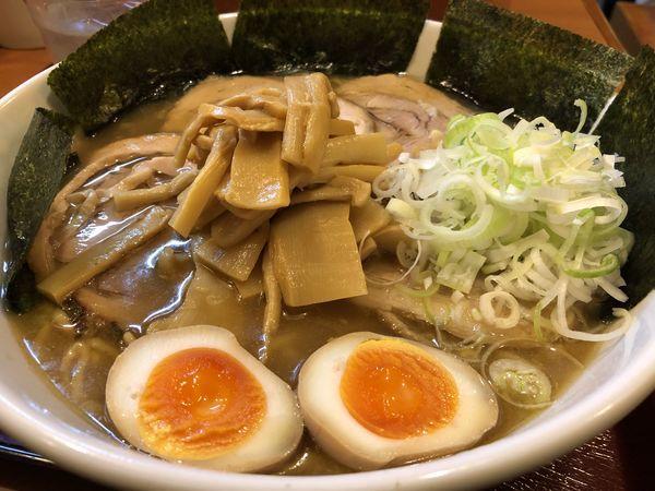 「中華麺(中)+全部のせ」@めん 和正の写真