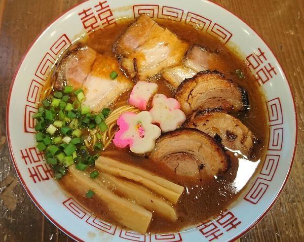 「【限定】和歌山風とんこつらーめん+チャーシュー=¥1020」@麺屋たつみ 喜心 狭山店の写真