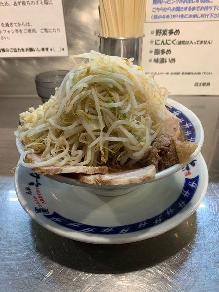 「小 味玉 ブタ」@ラーメン大 下高井戸店の写真
