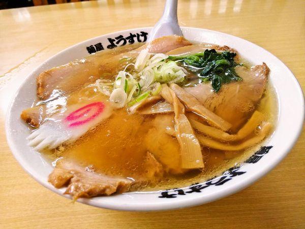 「チャーシューメン」@麺屋 ようすけの写真